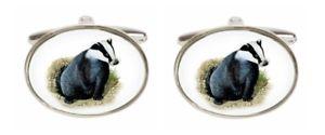 【送料無料】メンズアクセサリ― アナグマカフリンクスnovelty badger cufflinks