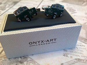 【送料無料】メンズアクセサリ― ランドローバーシリーズ2 32a swb88カフスリンクland rover series 2 2a 3 swb 88 farmer cufflinks enamel silver plated present