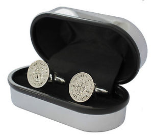 【送料無料】メンズアクセサリ― luxurythree pence cufflinks choice of date19201944birthday presentluxury silver three pence cufflinks choice of date 19201