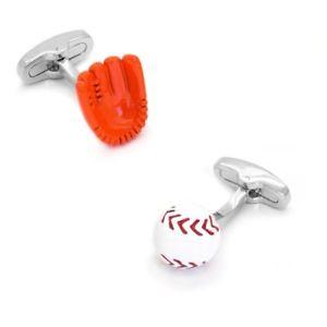 【送料無料】メンズアクセサリ― グローブボールカフリンクスbaseball glove and ball cufflinks