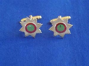 【送料無料】メンズアクセサリ― チェシャーカフリンクスcheshire regiment cuff links