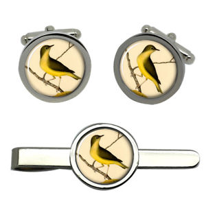 【送料無料】メンズアクセサリ― タイクリップセットconnecticut warbler round cufflink and tie clip set
