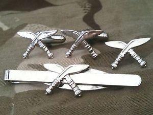【送料無料】メンズアクセサリ― グルカカフスリンクバッジネクタイピンセットgurkha regiment cufflinks, badge, tie clip military gift set