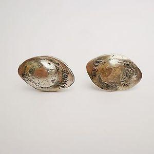【送料無料】メンズアクセサリ― sterlinggeorge marked cufflinkssterling silver george marked cufflinks