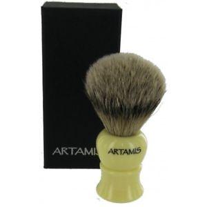 【送料無料】メンズアクセサリ― アナグマシェービングブラシtraditional silvertip badger shaving brush 20mm