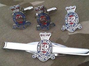 【送料無料】メンズアクセサリ― カフスリンクバッジネクタイピンrhaセットroyal horse artillery cufflinks, badge, tie clip rha gift set