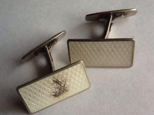 【送料無料】メンズアクセサリ― ブドウノルウェーカフスリンク quality vintage gilded norwegian silver enamelled cufflinks for restoration