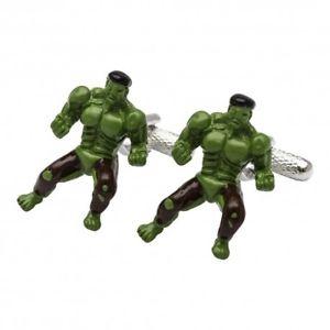 【送料無料】メンズアクセサリ― ハルクカフリンクスincredible hulk cufflinks