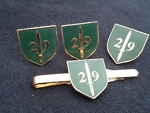 【送料無料】メンズアクセサリ― カフリンクバッジネクタイクリップセット29 commando royal artillery cuff links, badge, tie clip gift set