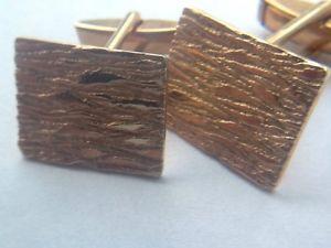 【送料無料】メンズアクセサリ― ヴィンテージゴールドリバイバルカフスリンクquality vintage gold plated chunky retro articulated cufflinks