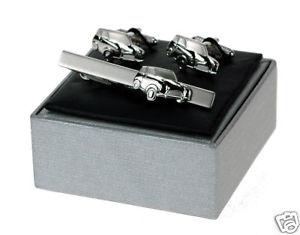 【送料無料】メンズアクセサリ― クラシックミニカーカフリンクタイバーカフリンクスclassic mini car cuff links amp; tie bar cufflinks