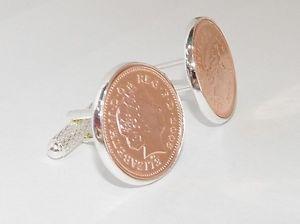 【送料無料】メンズアクセサリ― カフスボタンコインluxury 2nd cotton wedding anniversary cufflinks 1p coins from 2016
