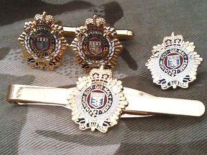 【送料無料】メンズアクセサリ― ロジスティックスカフスリンクバッジネクタイピンrlcセットroyal logistic corps cufflinks, badge, tie clip rlc gift set