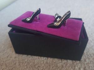 【送料無料】メンズアクセサリ― ※メンズシルバーレディースハイヒールカフリンクス*bnib tmlewin mens silver ladies stiletto high heel shoes cufflinks*lk*