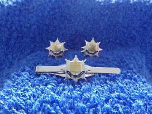 【送料無料】メンズアクセサリ― ロイヤルカフリンクスネクタイグリップクリップセットroyal anglian regiment cuff links and tie grip clip set