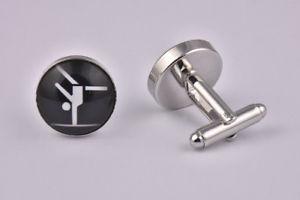 【送料無料】メンズアクセサリ― カフスリンクgymnastics cufflinks
