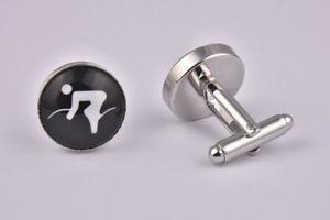 【送料無料】メンズアクセサリ― サイクリングカフリンクスcycling cufflinks