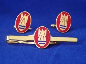 【送料無料】メンズアクセサリ― カフリンクスネクタイグリップクリップセットbomb disposal cuff links and tie grip clip set