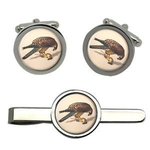 【送料無料】メンズアクセサリ― ラウンドタイクリップセットkestrel round cufflink and tie clip set
