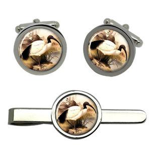 【送料無料】メンズアクセサリ― イビスラウンドタイクリップセットibis round cufflink and tie clip set