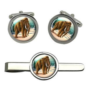 【送料無料】メンズアクセサリ― タイクリップセットmammoth round cufflink and tie clip set