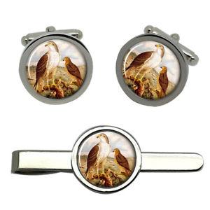 【送料無料】メンズアクセサリ― ワシラウンドタイクリップセットbonellis eagle round cufflink and tie clip set
