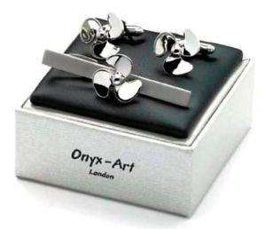 【送料無料】メンズアクセサリ― セイリングカフリンクスタイスライドセットsailing propellar cufflinks amp; tie slide set gift