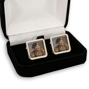 【送料無料】メンズアクセサリ― フィールドバーナードモントゴメリーメンズカフスボタンfield marshal bernard montgomery men's cufflinks gift engraving