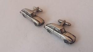 【送料無料】メンズアクセサリ― グアテマラピューターカフリンクスクラシックカーmgb gt fine english pewter 3d cufflinks classic car