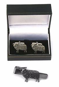 【送料無料】メンズアクセサリ― カフスボタンタイクリップバースライドセットaries the ram cufflinks amp; tie clip bar slide set astrology gift