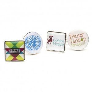 【送料無料】メンズアクセサリ― スクエアカスタムロゴカフスボタンブランドロゴカフリンクスsquare custom logo cufflinks brand logo cufflinks