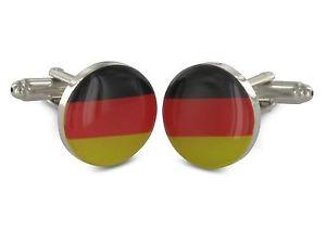 【送料無料】メンズアクセサリ― カフリンクドイツteroon cuff links germany flag