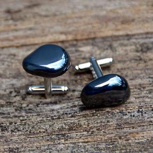 【送料無料】メンズアクセサリ― カフスリンク hematite cufflinks grounding and balancing