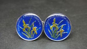 【送料無料】メンズアクセサリ― コインカフスボタンchina coin cufflinks 19mm