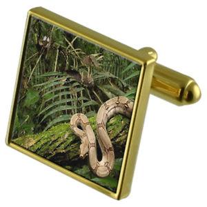 【送料無料】メンズアクセサリ― カフスボタンクリスタルタイクリップセットrainforest goldtone cufflinks crystal tie clip gift set