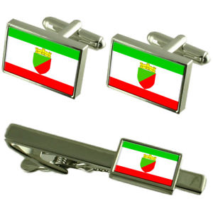 【送料無料】メンズアクセサリ― シティモルドバカフスボタンタイクリップボックスセットtaraclia city moldova flag cufflinks tie clip box gift set