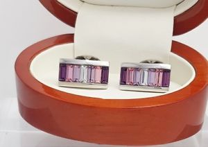 【送料無料】メンズアクセサリ― イアンフラハティデザイナーアメジストクリスタルカフスボタンメンズアクセサリian flaherty designer cufflnks amethyst crystal cufflinks,mens accessories