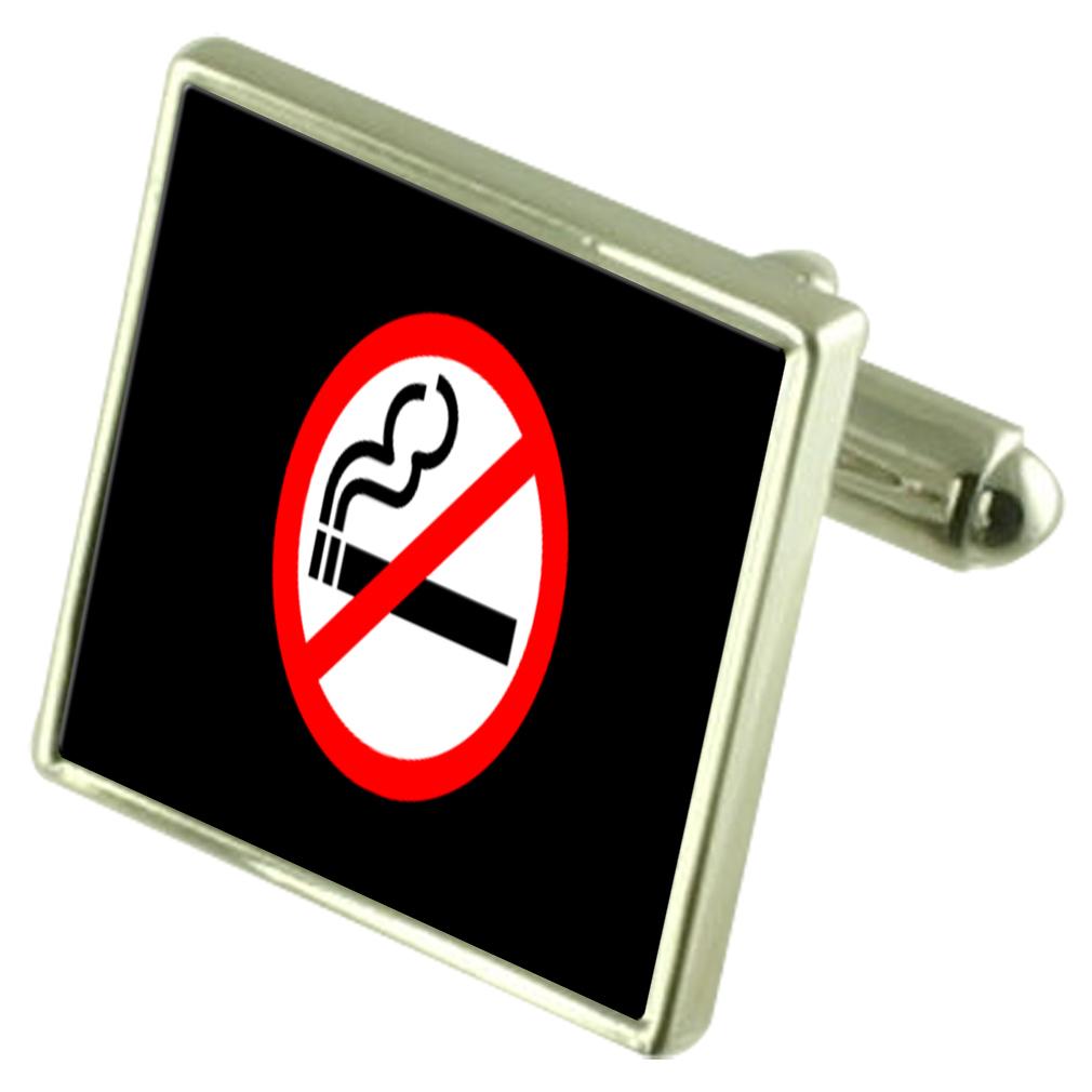 【送料無料】メンズアクセサリ― メッセージボックスno smoking sign engraved keepsake message box