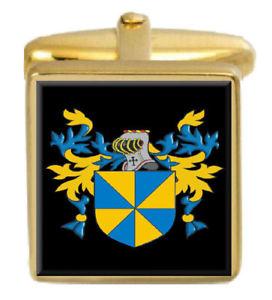【送料無料】メンズアクセサリ― divvieスコットランドカフスリンクdivvie scotland family crest surname coat of arms gold cufflinks engraved box