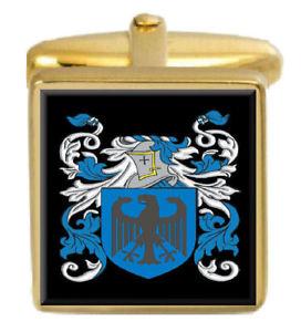 【送料無料】メンズアクセサリ― ドノヒューアイルランドカフスリンクdonoghue ireland family crest surname coat of arms gold cufflinks engraved box