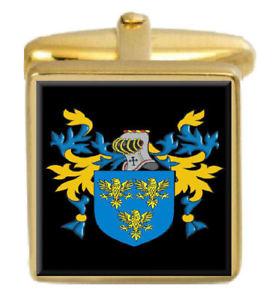 【送料無料】メンズアクセサリ― rintoulスコットランドカフスリンクrintoul scotland family crest surname coat of arms gold cufflinks engraved box