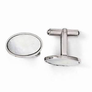 【送料無料】メンズアクセサリ―  mens formal stainless steel mother of pearloval cuff links 744g mens formal stainless steel mother of pearl oval cuff lin