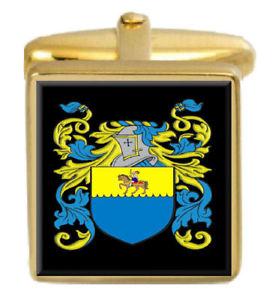 【送料無料】メンズアクセサリ― mcneirスコットランドカフスリンクmcneir scotland family crest surname coat of arms gold cufflinks engraved box