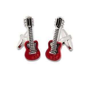 【送料無料】メンズアクセサリ― gemelli uomo chitarra elettricagemelli uomo chitarra elettrica