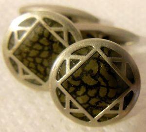 【送料無料】メンズアクセサリ― カフスボタンアールデコデビッドold cufflinks art deco, decor geometric star david