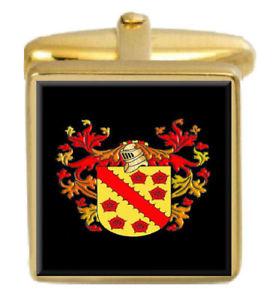 【送料無料】メンズアクセサリ― ワーナーイングランドカフスボタンボックスコートwarner england family crest surname coat of arms gold cufflinks engraved box