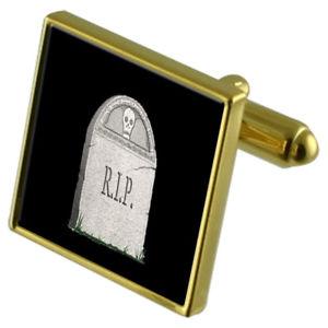 【送料無料】メンズアクセサリ― カフスボタンクリスタルタイクリップセットheadstone cin goldtone cufflinks crystal tie clip gift set