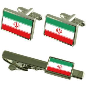 【送料無料】メンズアクセサリ― フラグカフスボタンタイクリップマッチングボックスセットirn flag cufflinks tie clip matching box gift set