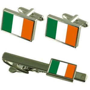 【送料無料】メンズアクセサリ― フラグカフスボタンタイクリップマッチングボックス?ire flag cufflinks tie clip matching box gift set