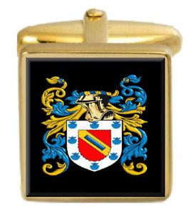 【送料無料】メンズアクセサリ― エリオットイングランドカフスボタンボックスコートelliott england family crest surname coat of arms gold cufflinks engraved box